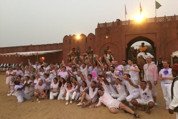 Voyage de récompense - Inde 70 personnes