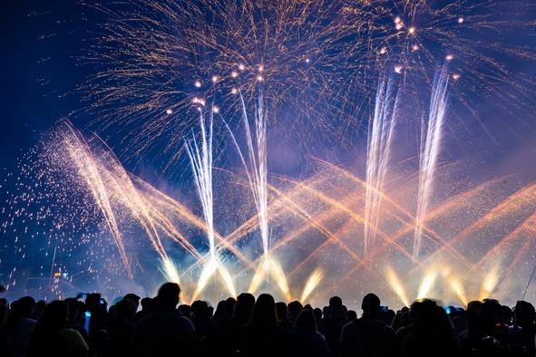 Festival feu d'artifice - Montréal 800 personnes